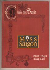 """Miss Saigon"" London Playbill 1990  Lea Salonga, Jonathan Pryce, Simon Bowman"
