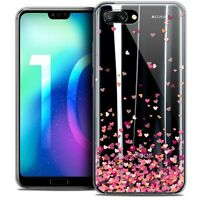 "Coque Gel Pour Huawei Honor 10 (5.8"") Souple Sweetie Heart Flakes"