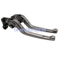 Long CNC Brake Clutch Levers For Yamaha XJ6 DIVERSION 2009-2015 Folding 2010 14