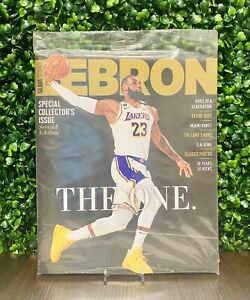 2020 SLAM Presents Lebron James Los Angeles Lakers The One Special Issue plastic