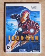 NEW MINT WII IRONMAN Official  PAL VERSION Video Game Nintendo From UK England