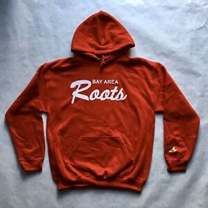 San Francisco 49ers Bay Area Roots Pullover Red White Gold Hoodie Brand New (M)