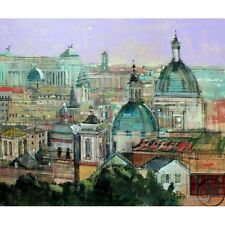 ALEX ZWARENSTEIN **ROME ROOFTOPS** GICLEE ON CANVAS