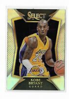 2014-15 Panini Select Silver prizm 2nd year Kobe Bryant #20 Los Angeles Lakers