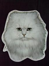 GRAND AUTOCOLLANT  - motif tête chat   PERSAN CHINCHILLA  N° 1