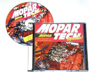 ☛ Mopar Action 7-Issue Tech Special C-D Rom Great  Ref. Lowbuck Secrets & Tricks