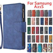 Handyhülle Tasche Samsung Galaxy A21S Schutzhülle Case Brieftasche Kartenfach