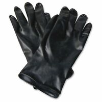 North Butyl Chemical Protection Gloves - 10 - Water Resistant, Durable, Chemical