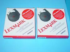Genuine Ibm Black Ribbon 1299933 For Quietwriter 5202 Lot Of 2