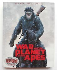 """""""War For the Planet of The Apes"""" (2017), Blu-Ray / Dvd, Science Fiction Film"""