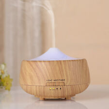 LED Essential Oil Diffuser Air Aroma Mist Theapy Ultrasonic Purifier Humidifier