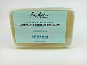 Shea Moisture Quench & Refresh Bar Soap Coconut & Cactus Water ~ Free Shipping