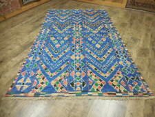 Super Turkish Veg Dye Oushak Heriz Serapi Tabrizz 5x8 Contemporary Rug