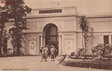 Postcard British Empire Exhibition 1924 New Zealand Pavilion Uk
