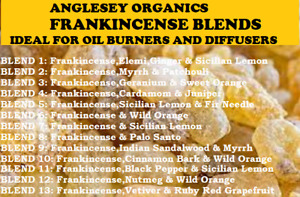 Frankincense Blended With Other Essential Oils Ideal For Oil Burners & Diffusers