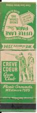 CREVE COEUR GUN CLUB - CREVE COEUR, MISSOURI EARLY MATCH COVER