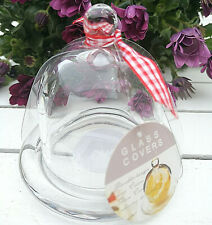 Glashaube Haube Glasdom Glaskuppel Gloche klar Glocke Glassturz Glasglocke