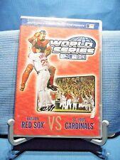 Major League Baseball - 2004 World Series Red Sox vs Cardinals (DVD, 2004)
