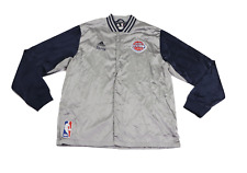 Adidas NBA Authentics Detroit Pistons Anthony Tolliver Game Worn Jacket 3XL