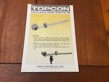 TOPCON DM-500 RANGE FINDER BROCHURE SURVEYOR