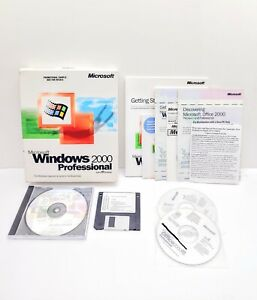 Microsoft Windows 2000 Professional & Office 2000 Professional With Licenses