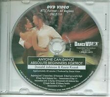 FOX TROT Anyone can dance Beginner Intermediate Johnson & Kozak Dance Vision DVD
