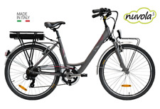 "Nuvola 26"" tyre E-Bike Electric bicycles  Made in Italy  Hybrid bicycles 36v"