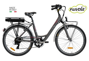 """Nuvola 24"""" tyre E-Bike Electric bicycles  Made in Italy  Hybrid bicycles 36v"""