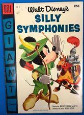 WALT DISNEY'S SILLY SYMPHONIES #6 (1955) Dell Giant Comics FINE-