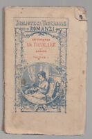 BIBLIOTECA TASCABILE DI ROMANZI-INTORNO AL FOCOLARE  1880 BOLOGNA FELSINEA-L3364