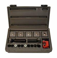 Professional Automotive Inline Brake Flaring Tool Kit w/ Double & Single Flares