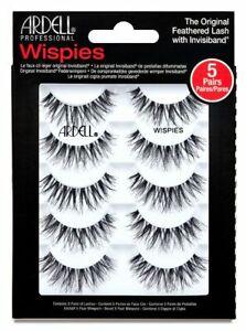 Ardell Wispies 5 Pairs Feathered Lash Multipack False Fake Eyelashes Eye Lashes