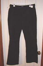 BEN GARSON- LEATHER PANTS- BLACK- SIZE 12- NEW