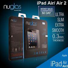 GENUINE NUGLAS Premium Tempered Glass Screen Protector For Apple iPad Air/ Air 2