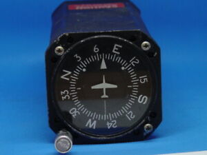 Cessna Directional Gyro C661075-0101.Aviation Instrument 200-5C WORKING