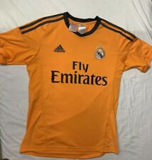 18aa8d0d050 Real Madrid Adidas Boy's Emirates Jersey Size Large In Great Condition 👍