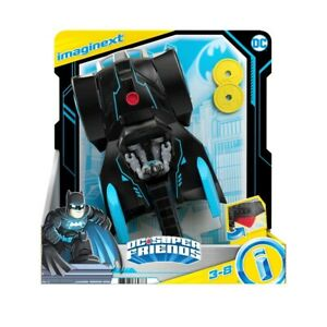 Imaginext DC Super Friends Bat-Tech Batmobile transforming push-along vehicle F1