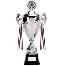 SILVER YUKON CUP TROPHY 43cm AWARD FREE ENGRAVING AVAILABLE IN 4 SIZES 479C