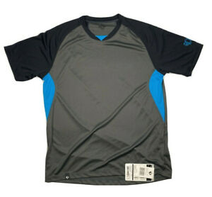 Pearl iZUMi Elite Pursuit Jersey, Gray and Atomic Blue style 11121306 SX L NWT