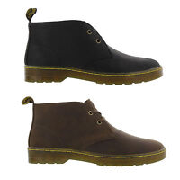 Dr Martens Cabrillo Mens Black Brown Leather Chelsea Chukka Boots Size 7-13