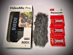 Rode Videomic Pro (OPENED) NEW