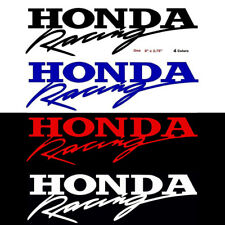1x Honda Racing Funny Car Sticker Window Decal JDM Spoon Civic Accord CRX Bumper