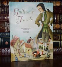 Gulliver's Travels by Jonathan Swift Illustrated Rossi New Deluxe Hardcover Gift