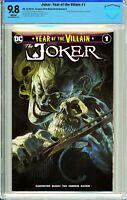 Joker: Year of The Villain #1 Comics Elite Exclusive A - CBCS 9.8!