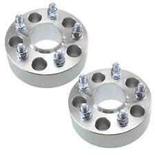 """(2) 50mm Chevy Hubcentric Wheel Spacers 5x4.75 66.9mm Fits Camaro 2"""" 5x120"""