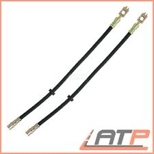 2x BRAKE LINE PIPE FRONT VW BORA 1J 00-04 GOLF 4 1J 97-06 1.4-2.8