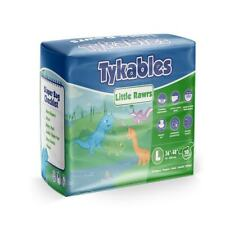 Tykables Little Rawrs - Size 1 (Medium) - Pack of 10 - ABDL Adult Diaper