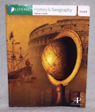 Alpha Omega Publications LifePac 2nd Grade History & Geography Teacher's Guide