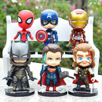 Avengers Endgame Spiderman Captain America Action Figure Toy Doll 6pcs/Set Gift