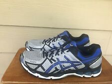 Asics Gel-Kayano 21 Men's Athletic Running Shoes Gray/Black/Blue Sz 11.5